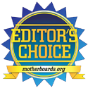 Motherboards.org Editor's Choice Winner