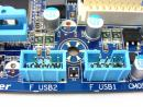 GIGABYTE P55A-UD6 Motherboard Review USB headers